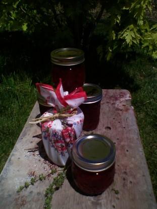 Strawberry-Thyme Jam